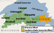 Our Michigan and Wisconsin Service Area